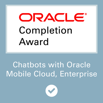 AST Team Successfully Completes Oracle Chatbot Training