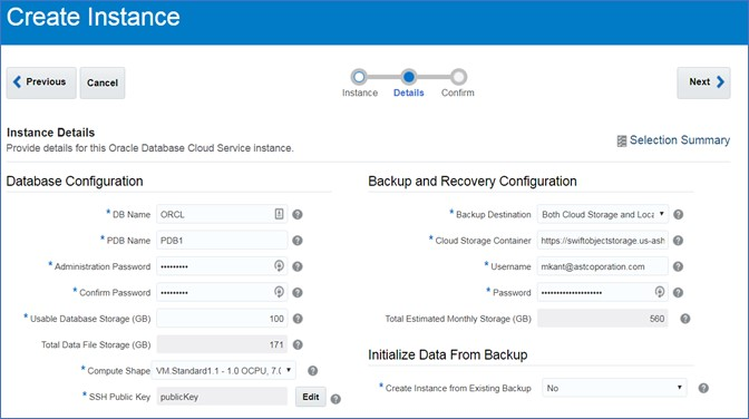 How to Resolve an Oracle Storage Cloud Connect Error While