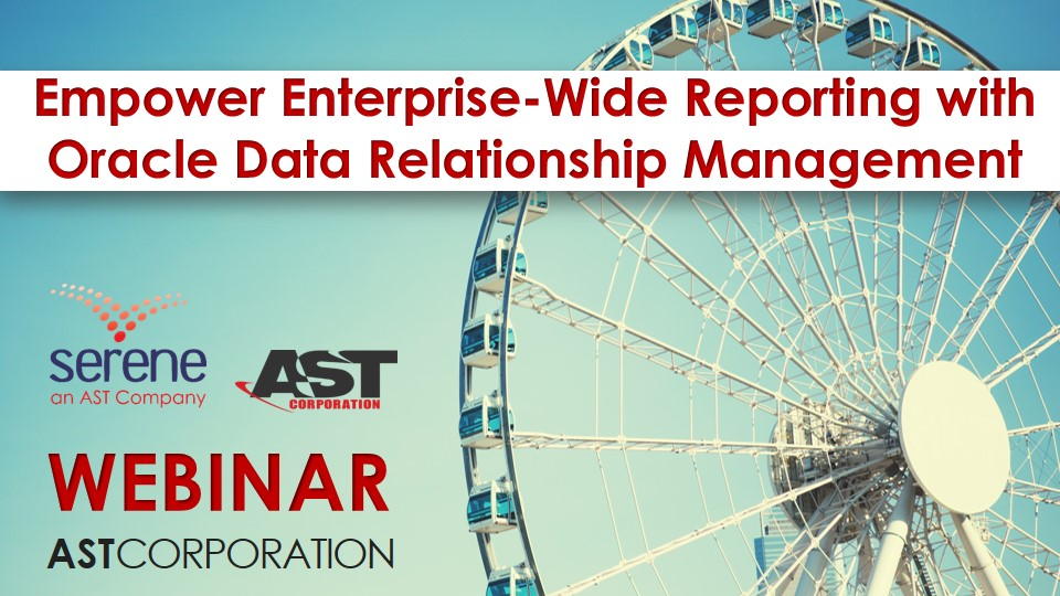 Empower Enterprise-Wide Reporting with Oracle Data Relationship Management