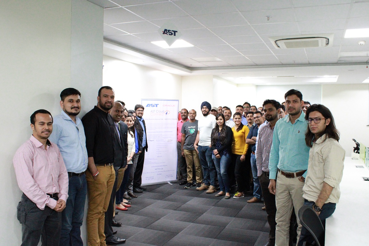 AST India's First Collaborative Workshop on Oracle Integration Cloud a Great Success!