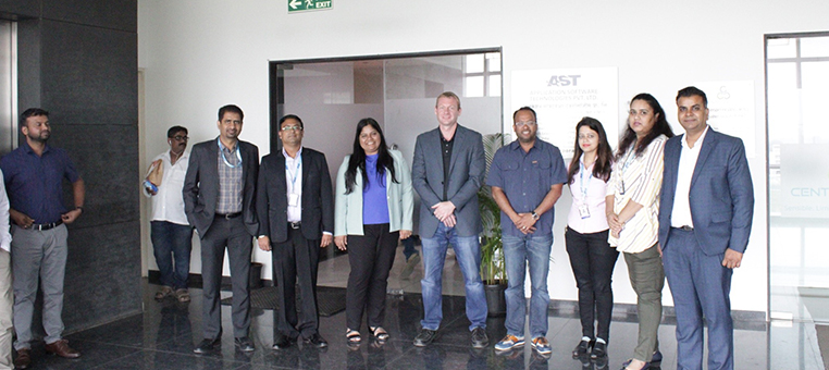 AST India Welcomes Visit from Realtor.com