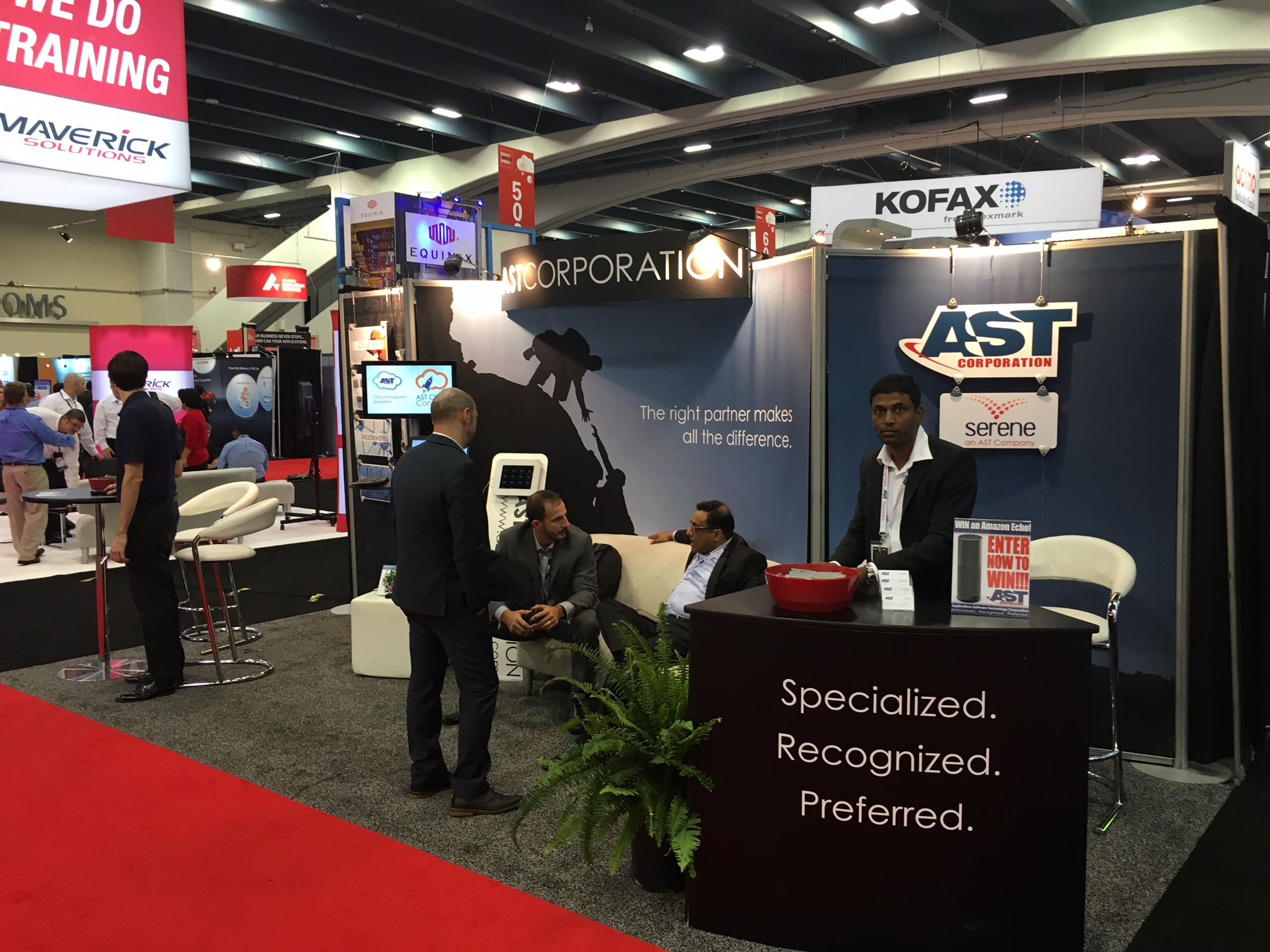 Visit Team AST at OOW Booth 309 and Win Big!