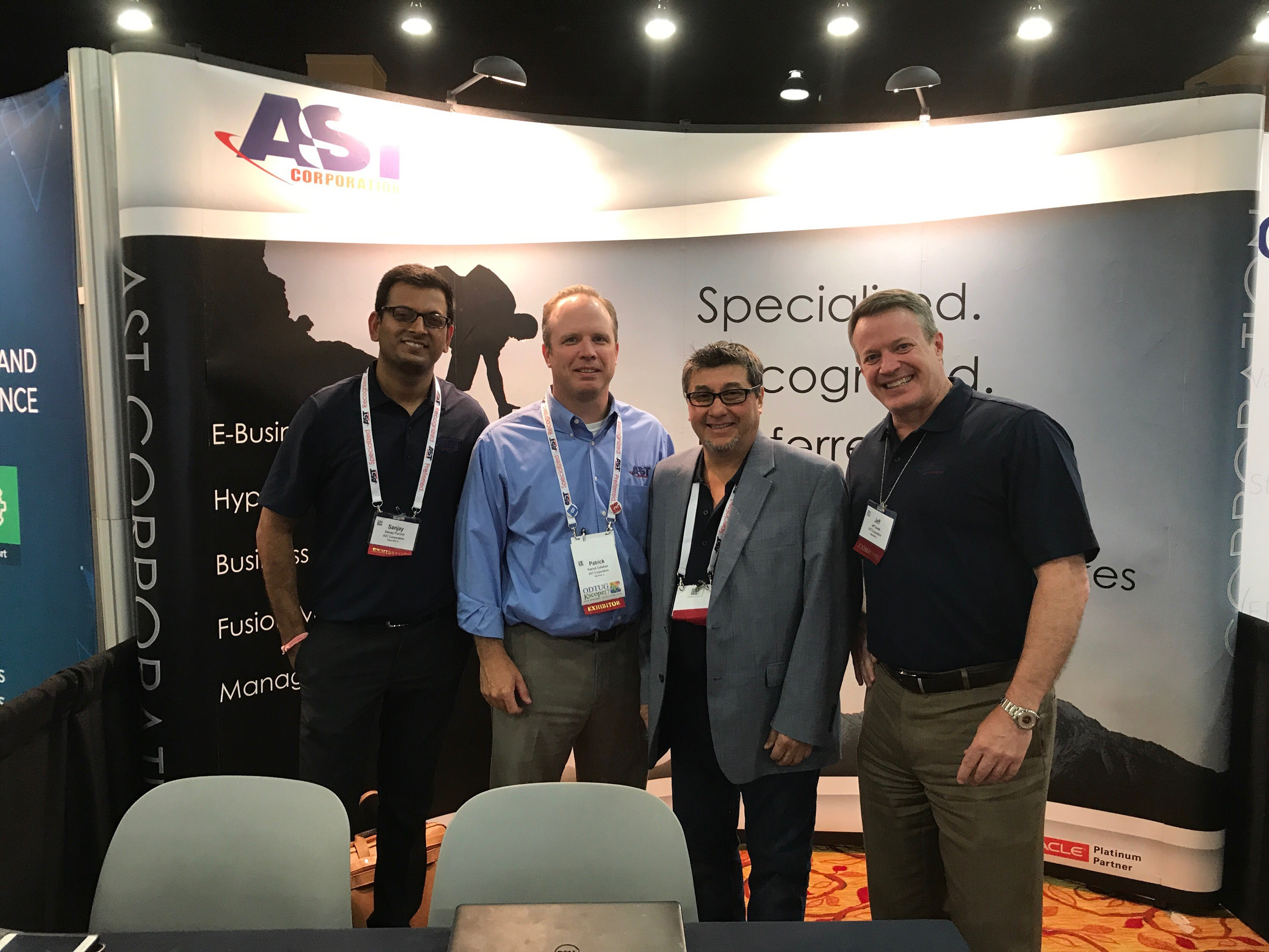 Team AST at Kscope17!