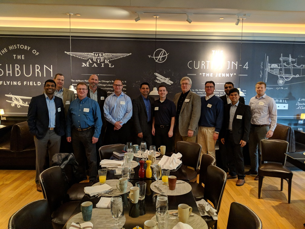 "Photos:  ""Oracle Cloud Platform (PaaS):  Security & Integration"" – Networking Breakfast"