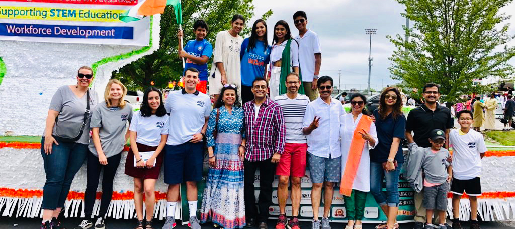 Team AST Participates in Annual India Day Celebration 2019