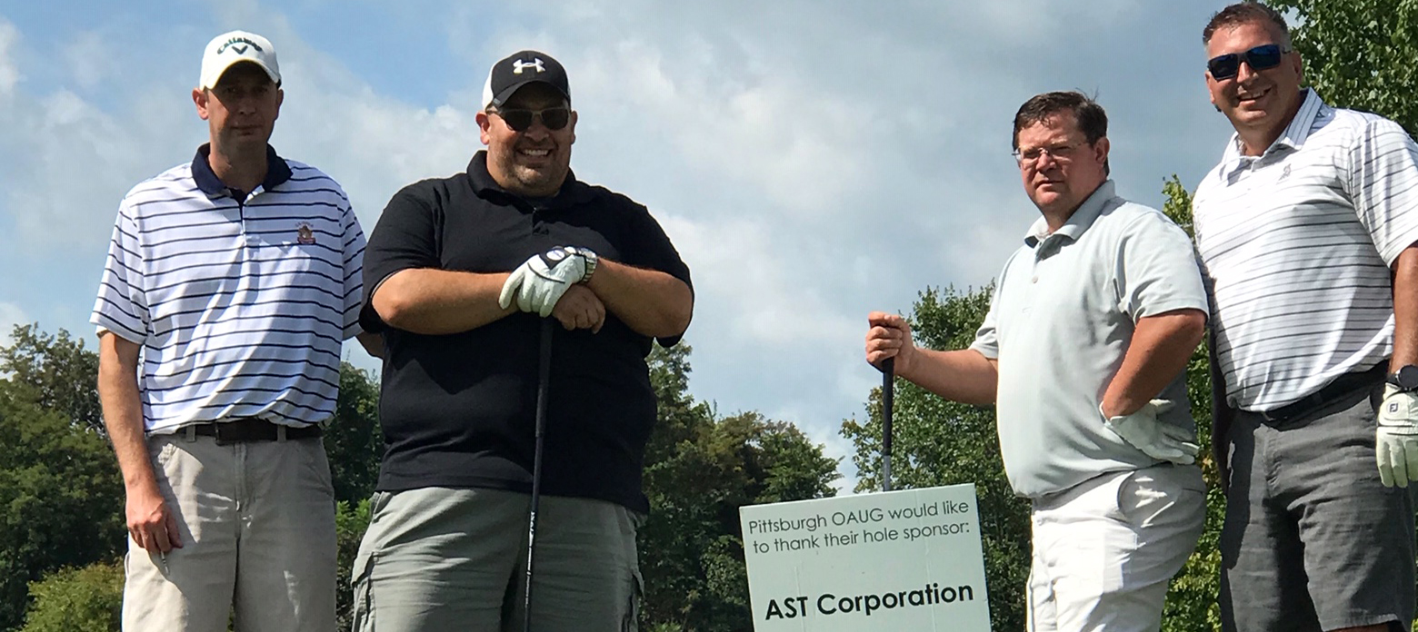 AST Sponsors Another Successful Pittsburgh OAUG Golf Outing