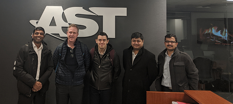 Mike Mullane of H&P Visits AST for ARB Meeting