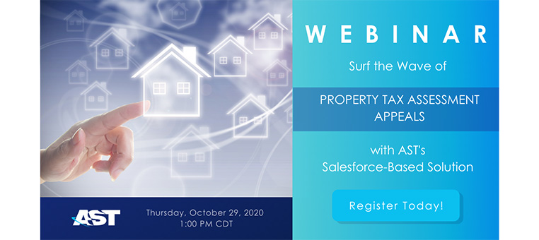 Surf the Wave of Property Tax Assessment Appeals with AST's Salesforce-based Solution