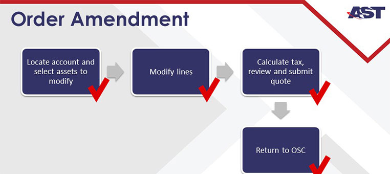 Oracle CPQ for the Media Industry Demo: Creating an Order Amendment