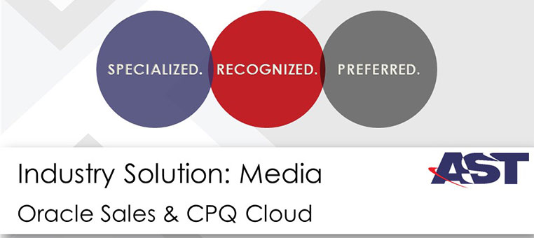 Oracle CPQ for the Media Industry