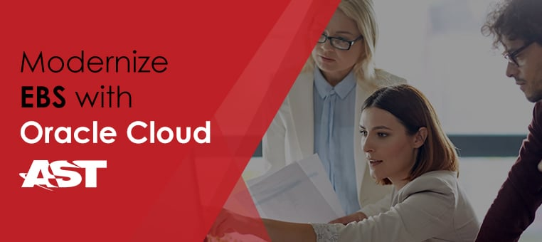 Modernize EBS with Oracle Cloud