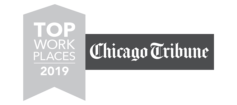 AST Awarded Winner of the Chicago Top Workplaces 2019