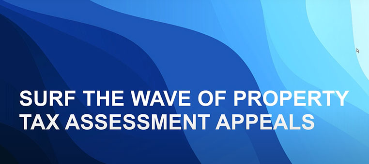 Webinar   Surf the Wave of Property Tax Assessment Appeals